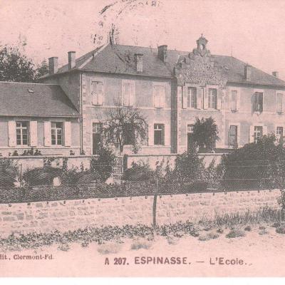 L'école au début du 20ème siècle