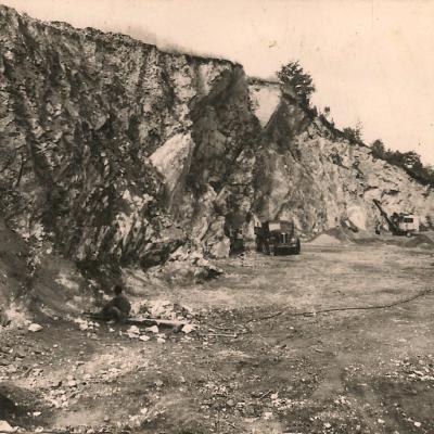Anciennes carrières de granit des Rochettes