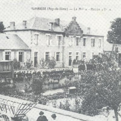 La Mairie - Maison d'Ecole vers 1929