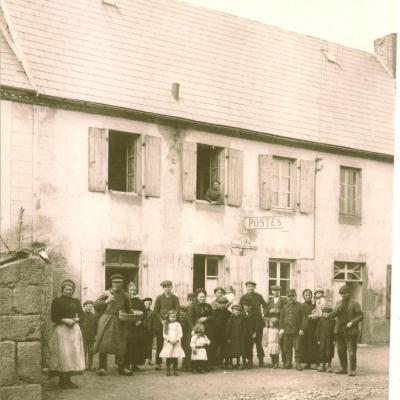 L'ancien bureau de poste au début du 20ème siècle