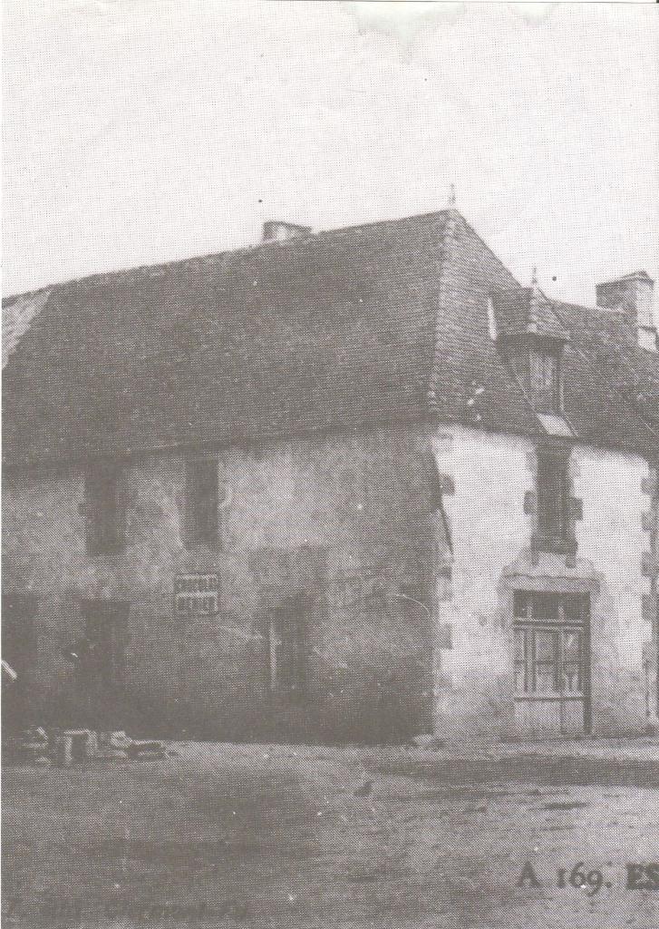 Maison du bourg au début du 20ème siècle